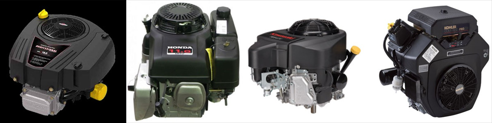 Repowers by Briggs & Stratton, Honda, Kawasaki and Kohler