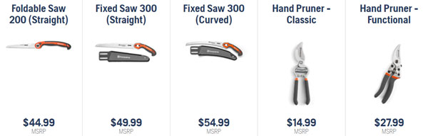Husqvarna trimming saws and pruners available at Steves Small Engine in La Crosse